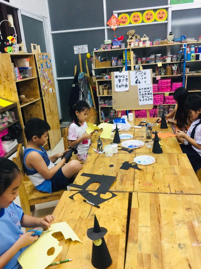 lớp vẽ sáng tạo cho bé