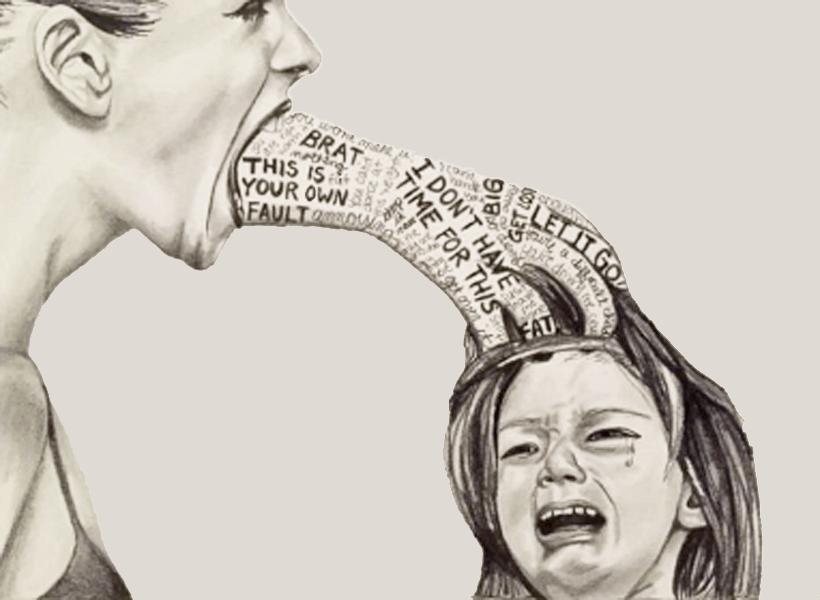 Trừng phạt trẻ khi trẻ mắc lỗi cực lớn