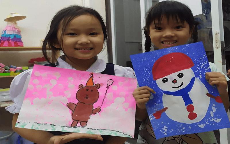 Sky Art - Lớp dạy vẽ sáng tạo tại Thủ Đức