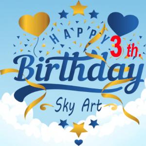 Sinh nhật Sky Art lần 3