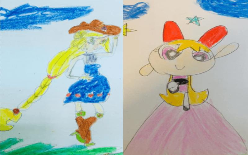 Sky Art - Bức tranh khi còn bé